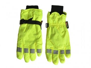 Hi-Visibility Gloves  Yellow - XL